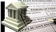 image of loan application mortgage lender broker agent bank leads